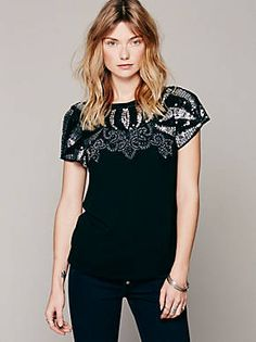 Free People FP X Mystic Nights Top, $128.00
