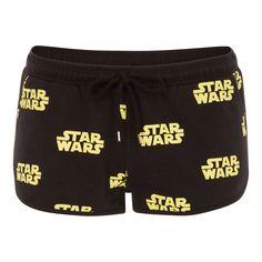 Aristiz kenobiz black Star Wars shorts