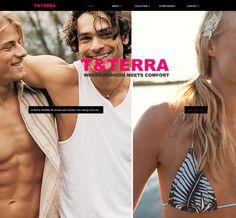 I really like the split photos // #Web #Design