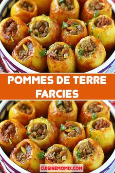 Pommes de terre Farcies Pommes de terre Farcies,Recettes Et Delices Stuffed potatoes are a kind of interpretation of a classic dish – potatoes with meat. The dish is not difficult to prepare, and the. Keto Crockpot Recipes, Chicken Recipes, Cooking Recipes, Diabetic Recipes, Quick Healthy Breakfast, Breakfast For Dinner, Easy Healthy Dinners, Healthy Dinner Recipes, Healthy Food