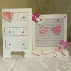 Card for new born twins