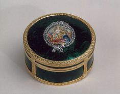 Snuff-Box Showing Catherine II Receiving the Keys from the City of Bendery, 1771/1772, Russia