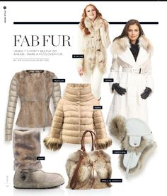SNOWS latest Fab Furs page!