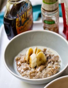 Ginger Cookie Risotto Hot Cereal Breakfast