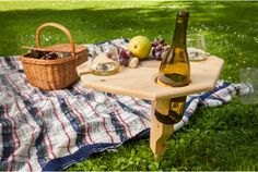 Oregon Cedar Outdoor Portable Table