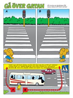 Trafik – Bamse.se Swedish Language, 1 An, Social Science, Science And Nature, Kids Education, Social Studies, Geography, Montessori, Things To Do