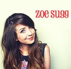 Zoella's fringe!