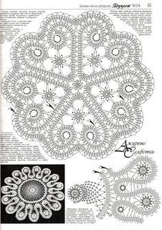 New Crochet Lace Heart Charts 38 Ideas Crochet Books, Crochet Home, Thread Crochet, Crochet Stitches, Filet Crochet, Crochet Motif, Knit Crochet, Bobbin Lace Patterns, Doily Patterns