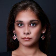 Aparte zilveren oorbellen.  Gratis verzending in Nederland  http://www.dczilverjuwelier.nl/zilveren-oorbellen-mashua