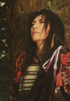 Gackt as Uesugi Kenshin (Fuurin Kazan)
