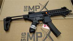 Sig MPX SBR Keymod 9mm New Collapsible Stock NFA : Short Barrel Rifles (SBR) at GunBroker.com