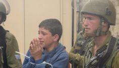 Katil İsrail'den Filistinli çocuklara ev hapsi
