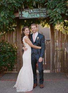 Katie & Drew - a ceremony amidst the redwoods...