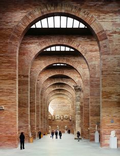 Rafael Moneo designed National Museum of Roman Art in Mérida, Spain.