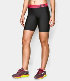 Women's UA HeatGear® Armour Long Compression Shorts   Under Armour US