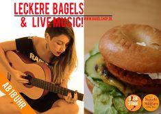#Leckere #Bagels & #LiveMusic :-) #OpenStage heute wieder im Fresh Bagels & Muffins!  Ab 18 Uhr bei uns im #bagelshop  www.bagelshop.de