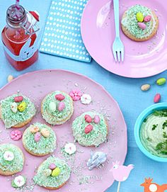 Pretty Easter cookies