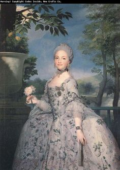 Anton Raphael Mengs - Maria Luisa de Parma