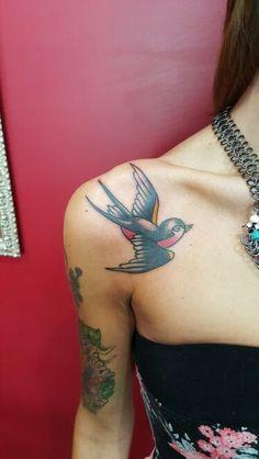 Swallow tattoo  Instagram  @jonatattoo  Fb.page Jona Tattoo Art  Email jonatattoo@email.it