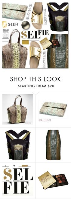 """Gleniofficial"" by barbarela11 ❤ liked on Polyvore featuring Mela Loves London, Roland Mouret, Nuuna, Kevyn Aucoin, gleni and gleniboutique"
