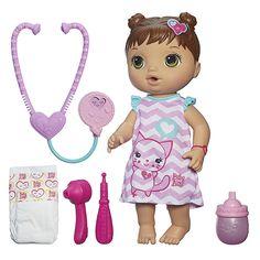 Baby Alive Better Now Bailey - Brunette Hair, Multicolor Muñeca Baby Alive, Baby Alive Dolls, Baby Alive Doll Clothes, Baby Doll Toys, Cute Baby Dolls, 5 Babies, Cute Babies, Best Kids Toys, Toys Online
