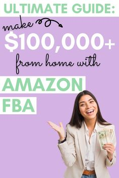 Selling online can be so easy with Amazon FBA! Click through to learn how to start an Amazon FBA business in 2020 and 2021 by selling (or reselling) products on Amazon. This step by step guide will walk you through researching products to sell on Amazon, outsourcing the entire process, & making six to seven figures with an Amazon FBA business. This home business idea is perfect to work from home and still make a full time income! How to start an Amazon FBA business from home & make money… Make Money On Amazon, Sell On Amazon, Make Money Online, How To Make Money, Amazon Fba Business, Make Millions, Making Extra Cash, Selling Online