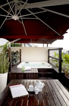 roof terrace in singapore with jacuzzi - Google Search