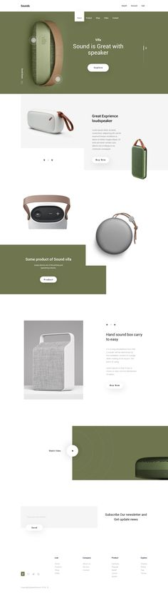 Landing page by Jabel Ahmed