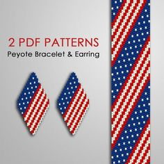 Bead Crochet Patterns, Peyote Stitch Patterns, Beading Patterns Free, Seed Bead Patterns, Beaded Jewelry Patterns, Perler Patterns, Pdf Patterns, Beading Tutorials, Pattern Designs