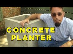 How to make low cost cement Pots at home.