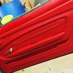 No MDF was harmed in the making of this door, aluminum base with fiberglass or ABS, it makes for a lighter panel to keep the doors from sagging. custom door panels inserts, fiiberglass, router work.... modern chevelle maybe?