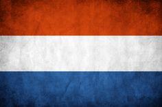 Netherlands Grunge Flag by think0.deviantart.com on @DeviantArt