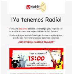 📻Escucha Radio Misablis: Rock y Marketing🎧