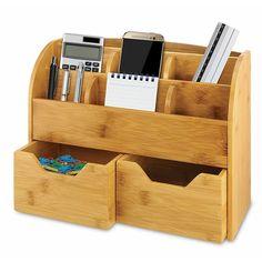 Writing Center Organization, Home Office Organization, Desktop Organization, Bathroom Organisation, Storage Organization, Office Decor, Storage Spaces, Teacher Organization, Kitchen Storage