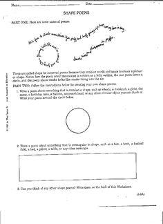 limerick worksheets 3 poetry resources pinterest worksheets. Black Bedroom Furniture Sets. Home Design Ideas