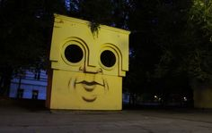 The City Sentinel-Rostov on Don - The Living Wall - Street Art by Nikita Nomerz  <3 <3