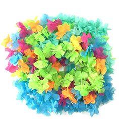 BOSHENG Hawaiian Colorful Luau Flower Leis Necklaces for ... https://www.amazon.com/dp/B01GC0LH26/ref=cm_sw_r_pi_dp_Wp3wxbGTRNC93