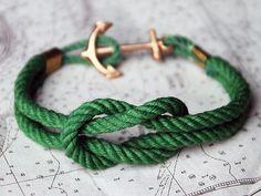 #anchor #gold #green