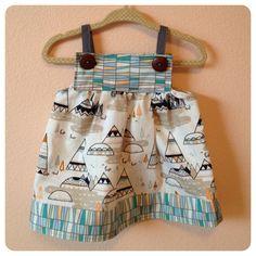 Gretel Jumper handmade baby or toddler dress by VivisJewels