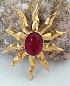 FEDeFAN — Beautiful #Sun #Brooch $18.00