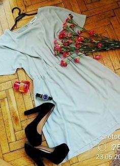Seledynowa sukienka #Medicine zwiewna elegancka