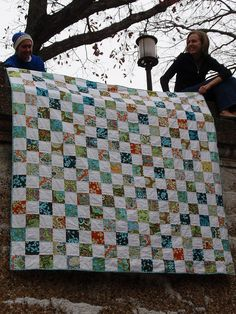Love simple quilts.