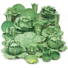 C Z Guest Auction 2014 at Sotheby's of Dodie Thayer's Lettuce Ware