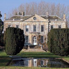 Bruern Abbey, Oxfordshire UK. English Architecture, Georgian Architecture, Classic Architecture, Architecture Design, English Manor Houses, English House, Eco Casas, Dream Mansion, Georgian Homes