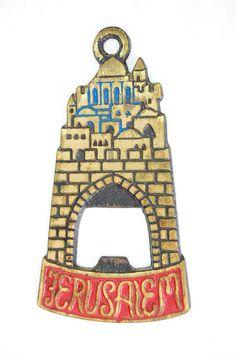 Vintage Judaica Bottle Opener by Yafim on Etsy, $10.00