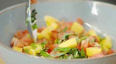 Oppskrifter – Enriched Food Gazpacho, Bruschetta, Guacamole, Hummus, Pesto, Potato Salad, Mango, Potatoes, Ethnic Recipes