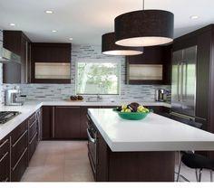 kitchen counterskitchen islandskitchen designskitchen remodelconcrete countertops - Modern Kitchen Looks