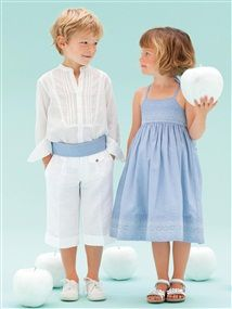 Lovely Wedding clothes for children...
