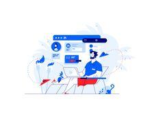 Dribbble - by Jacek Janiczak Competitor Analysis, Website Design Inspiration, Illustration, Poster, Illustrations, Posters, Character Illustration