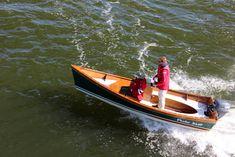 Peeler Outboard Power Skiff